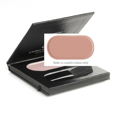 (Living Nature Certified Natural Cruelty-Free Mineral Blush - Warm Summer)