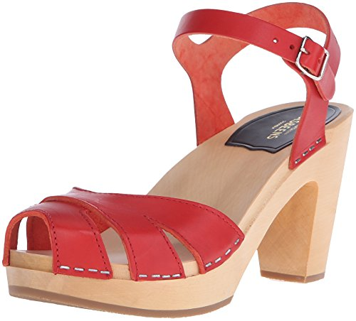 Zoccolo Hasbeens Suzanne 34204 Red - Size:36
