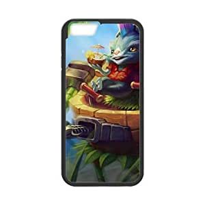 iphone6 plus 5.5 inch phone case Black Rumble league of legends AAA6273923
