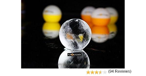 Compra Fun&Kitchen 4 MEGA ESFERAS DE HIELO XXL - 4 Moldes Premium ...