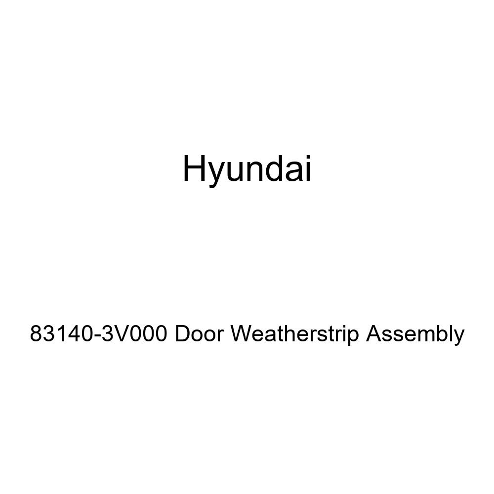 Genuine Hyundai 83140-3V000 Door Weatherstrip Assembly
