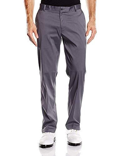 NIKE Golf Tech Flat Front Dri Fit Pants In Dark Grey (36-30)