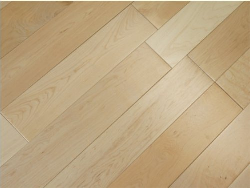 3-1/2 x 3/4 inch Greenland Solid Hardwood Maple Natural (Select & Better) Flooring (8 inch sample)