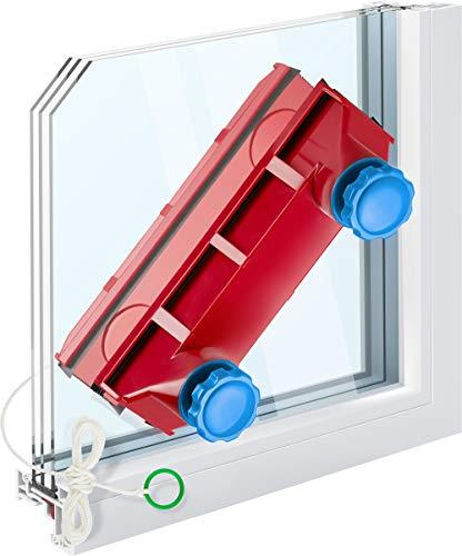 Limpiador de Vidrios doble Cara Magnetico hasta 28mm espesor