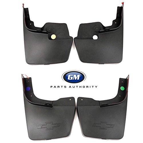 New Gm Molded Splash - General Motors 2015-2018 Colorado Molded Splash Guard Package 22958431 23278169 Black OEM GM