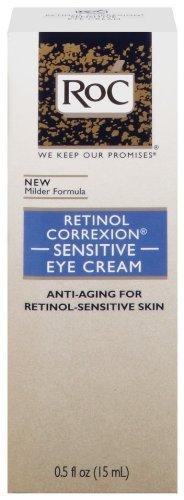 Roc Retinol Correxion Crème pour les yeux sensibles, 0.5-Ounces