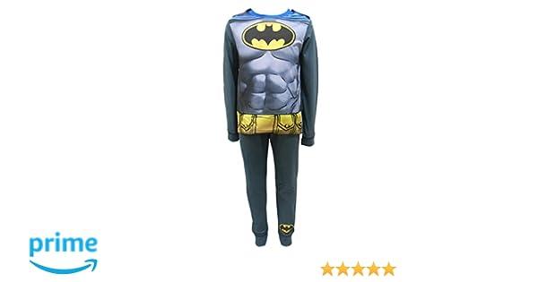 Batman Cabo Niños Pijamas - Edades 2-8 Años - 7-8 Years / 128 cm: Amazon.es: Ropa y accesorios
