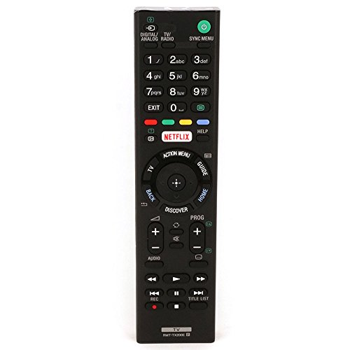 New VIRCIA RMT- RMT-TX200E fit for SONY Tv Remote Replace The RMT-TX200B For KD-49X7005D KD-55X7005D XBR-49X707D XBR-49X835D KD-65X7505D XBR-49X705D XBR-55X705D XBR-55X707D XBR-65X755D XBR-65X757D