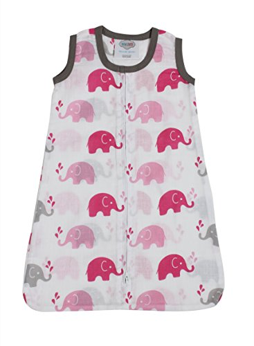 Muslin Sleeping Bag Elephant - 9