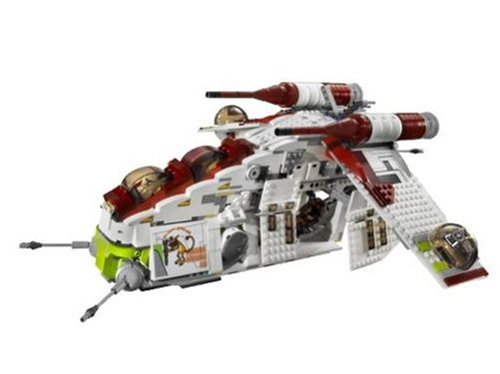Lego Star Wars 7676 - Republic Attack Gunship: Amazon.de: Spielzeug