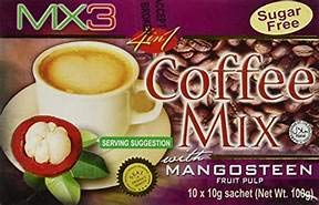 MX3 Mangosteen Coffee Mix 5 Sachets PLUS 1 FREE