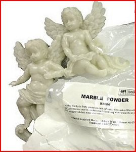 Marble Powder 325-mesh 1-lb (454 grams) (Marble Powder)
