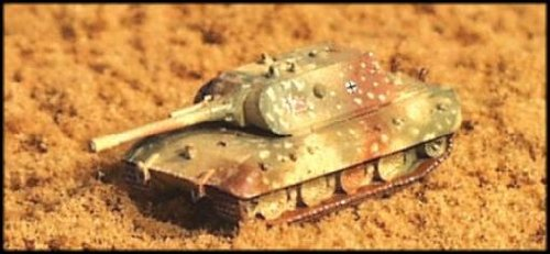 WWII Micro Armour - Germany - Tanks 1:285 E-100