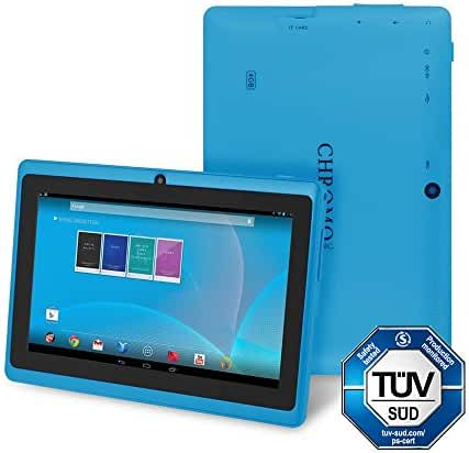 Chromo Inc CI2542 7-Inch 4GB Touchscreen Android Tablet - Updated with TUV quality certification (Blue)