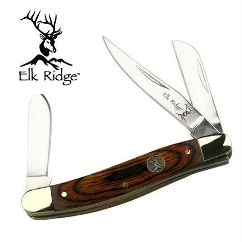 Elk Ridge ER-323W Gentleman's Knife 5.5-Inch Overall