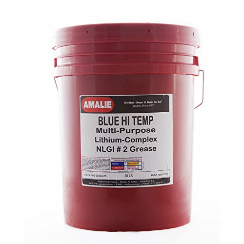 Amalie Blue Hi Temp Grease - 35lb pail by Amalie