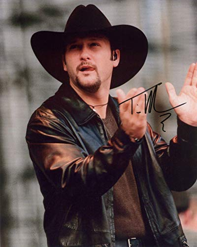 TIM MCGRAW - Reprint 8x10 inch Photograph - Country Singer Music
