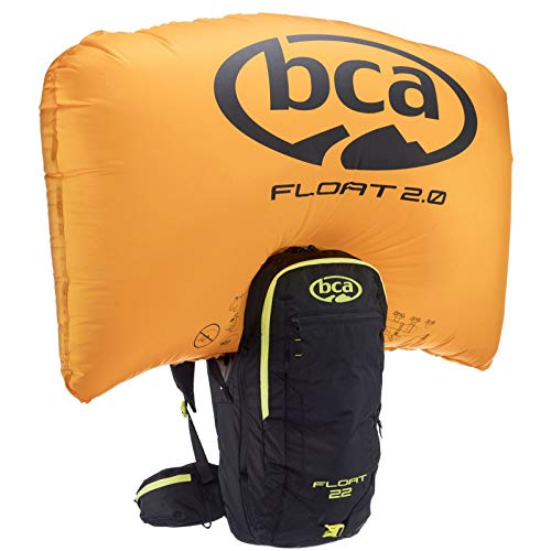 BCA Float 22 Avalanche Airbag 2.0 Backpack (Black/Lime)