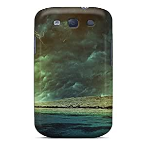 Pretty VbD10919XIXF Galaxy S3 Cases Covers/ Abstract 3d Series High Quality Cases