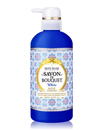 Kose Cosmeport-Savon DE Bouquet Body Wash White, 16.9 FL.OZ./500ML