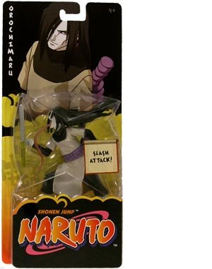 Naruto Mattel Action Figure Orochimaru (Slash Attack)