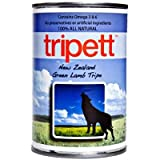 Tripett New Zealand Green Lamb Tripe for Dogs (12/13-oz Cans), My Pet Supplies
