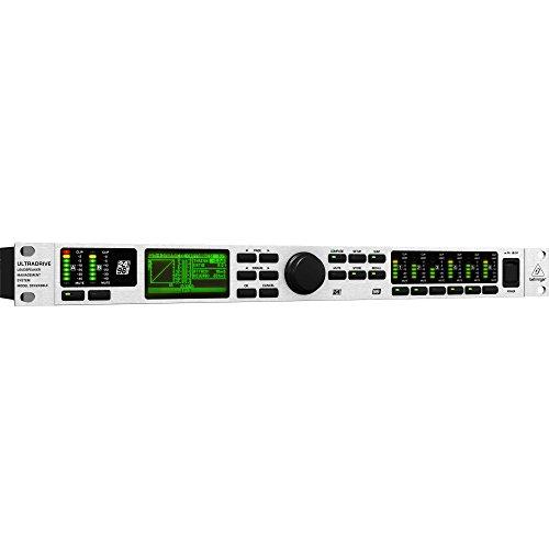 BEHRINGER DCX2496LE Ultra-High Precision Digital 24-Bit/96 KHz Loudspeaker Management System, Grey