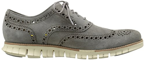 Cole Haan Mens Zerogrand Wing Oxford Ironstone Kudo Suede