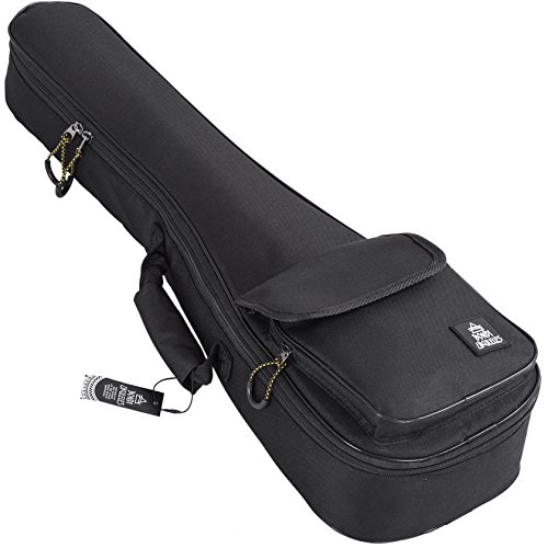 Ukulele Case Soprano Size Black 8 Official Colors Double woven carry handle Adjustable backpack straps Ultra Thick Padding with Enhanced Glide Zipper
