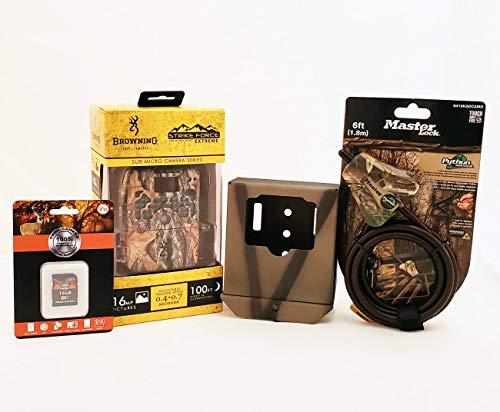 Browning Strike Force Extreme BTC-5HDX Trail Camera Bundle