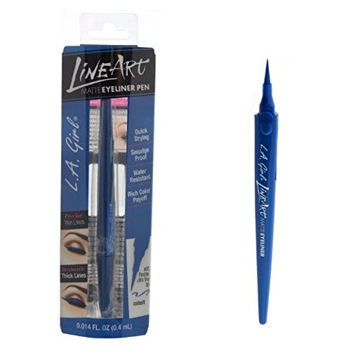 Line Art Matte Eyeliner : Amazon l a girl line art matte eyeliner pen pure