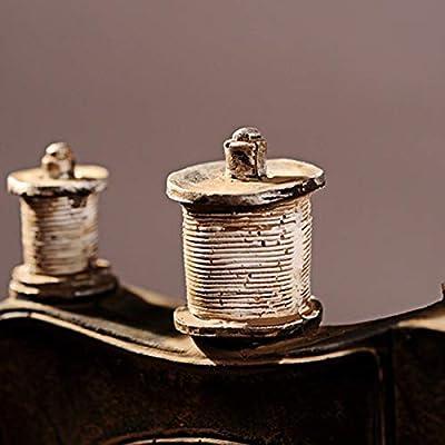 Cikuso Ornamentos Modelo Máquina De Coser De Resina Restaurar ...