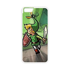 The Legend of Zelda The Minish Cap iPhone 6 Plus 5.5 Inch Cell Phone Case White custom made pgy007-9952587