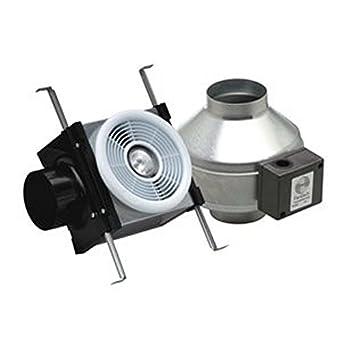 Fantech Pb110h Series Halogen Grille Lamp Width 13 Height 15 Depth 19 Usa Inline Bath Fan