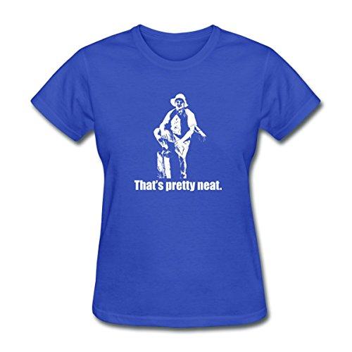 Spreadshirt Lenny Pepperbottom That's Pretty Neat Women's T-Shirt, L, Royal Blue