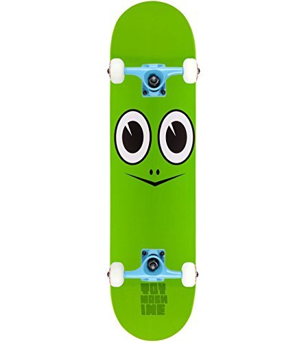 "Toy Machine Skateboard Complete TURTLE FACE 7.75"" Tensor Assembled"