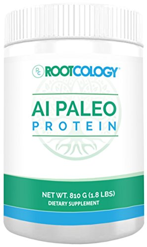 Rootcology AI Paleo Protein - Beef Protein Powder, 810 Grams, by Izabella Wentz Author of The Hashimoto's Protocol