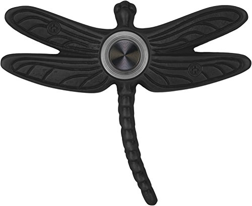 Waterwood Solid Brass Summer Dragonfly Doorbell in Black