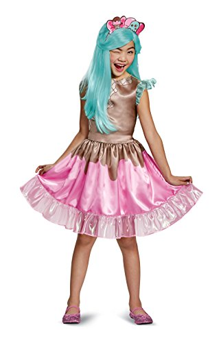 Peppa-Mint Classic Shoppies Costume, Pink/Brown, Small (4-6X)