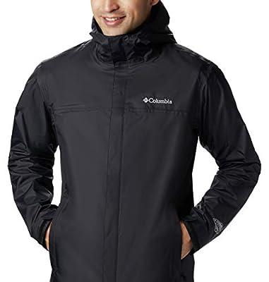 Columbia Men's Watertight II Waterproof, Breathable Rain Jacket, Black, 3X