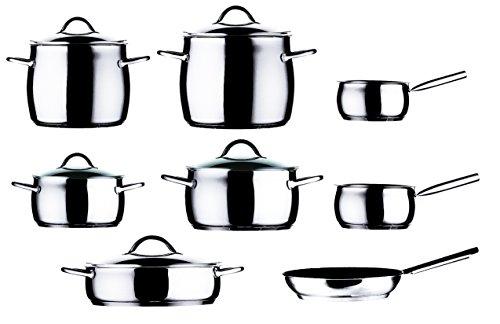Mepra 30140013 12 Piece 1950 Kitchen Set, Stainless Steel