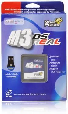 Amazon.com: m3ds Real slot-1 Flash carrito para DS/lite-none ...