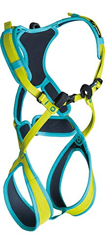 Edelrid Climbing Harness - EDELRID - Fraggle II, Children's Safety Climbing Harness, Oasis/Icemint, XX-Small