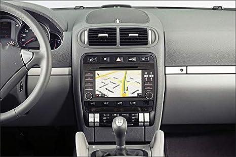 Porsche Cayenne Android 8.0, Octa Core, 4GB RAM, 32 GB ROM/GPS Radio Coche DVD AUTORADIO, Car/Tpms WiFi 3g 4g RDS CD SD navi navegador Map Stereo Año:2003 ...