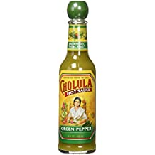 Cholula Green Pepper Hot Sauce 5 Fl Oz (Pack of 4)