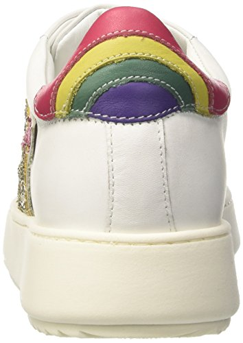 Twin Set Damen Ca7pf3 Low-top Wit (wit Licht)
