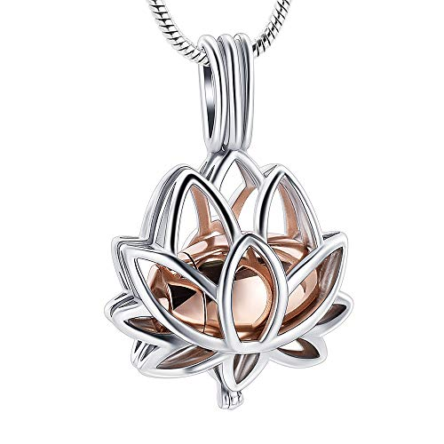 Cremation Jewelry Pendant Necklace Hollow