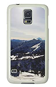 Samsung Galaxy S5 landscapes nature snow mountains 38 PC Custom Samsung Galaxy S5 Case Cover White