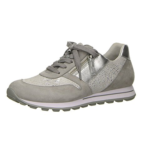 Gabor Comfort Damen Sneaker Grau; Femmes De Confort Espadrille Gris; Hell Gr??e 38.5 Grau (grau) Taille Gris Clair 38,5 (gris)