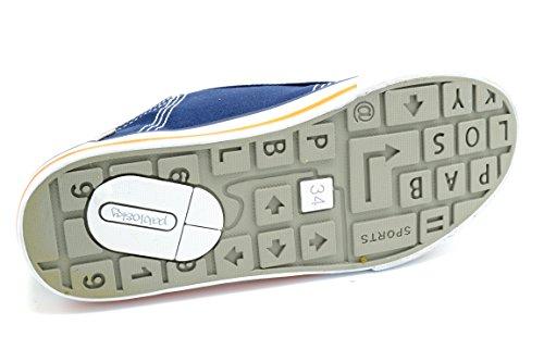 Pablosky 902620 - Zapatilla de lona con puntera de goma